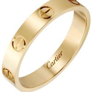 Cartier Love Wedding Band - yellow gold